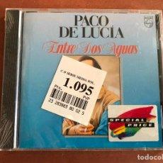 CDs de Música: PACO DE LUCIA - ENTRE DOS AGUAS CD NUEVO PRECINTADO. Lote 137897538