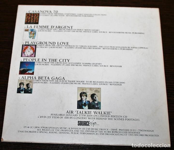 CDs de Música: CD - AIR - CHERRIES - CD PROMOCIONAL - Foto 2 - 137901398