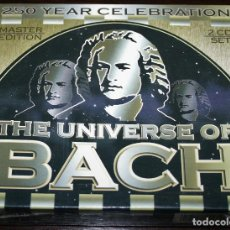 CDs de Música: CD DOBLE - THE UNIVERSE OF BACH - 250 YEAR CELEBRATION. Lote 137903750