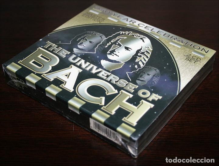CDs de Música: CD DOBLE - THE UNIVERSE OF BACH - 250 YEAR CELEBRATION - Foto 3 - 137903750