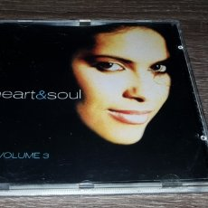 CDs de Música: HEART & SOUL VOL 3 - CD RECOPILACIÓN VOLUMEN 3. Lote 137910270