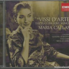 CDs de Música: VISSI D'ARTE. THE PUCCINI LOVE SONGS / MARIA CALLAS / 2 CD / PRECINTADO (REF.28). Lote 137914030