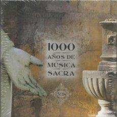 CDs de Música: 1000 AÑOS DE MUSICA SACRA / 5 CD´S / PRECINTADO (REF.04). Lote 137915346