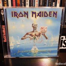 CDs de Música: IRON MAIDEN - SEVENTH SON OF A SEVENTH SON . Lote 137921570