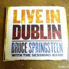 CDs de Música: CAJA CD ALBUM LIVE IN DUBLIN. BRUCE SPRINGSTEEN. Lote 137921698