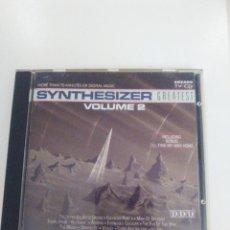 CDs de Música: SYNTHESIZER GREATEST VOLUME 2 ( 1991 ARCADE) VANGELIS KRAFTWERK MORODER OMD ULTRAVOX RAVEL. Lote 137944354