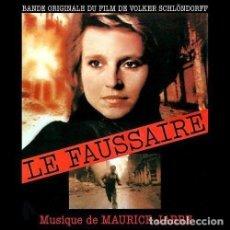 CDs de Música: LE FAUSSAIRE / MAURICE JARRE CD BSO - DCM. Lote 212426471