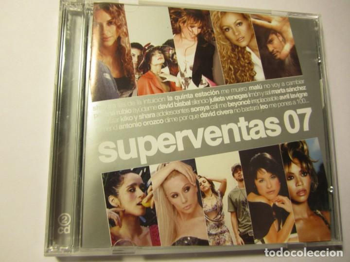 DOBLE CD SUPERVENTAS 07 MALU BEYONCE DAVID BISBAL PEREZA ANTONIO OROZCO SHAKIRA ETC... (Música - CD's Otros Estilos)