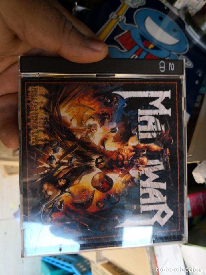 MANOWAR - HELL ON STAGE LIVE CD X 2 - HEAVY METAL (Música - CD's Heavy Metal)