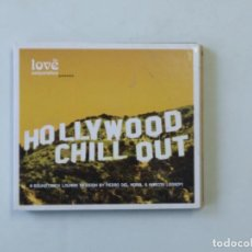 CDs de Música: CD HOLLYWOOD CHILL OUT 2 CD WEA PEDRO DEL MORAL MARCOS LEGAZPI. Lote 137990526