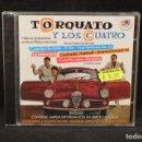CDs de Música: TORQUATO Y LOS CUATRO - TODAS SUS GRABACIONES EN PHILLIPS (1959-1963) - 2 CD. Lote 138019982