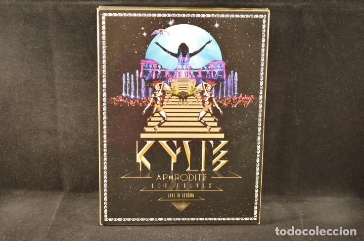 KYLIE - APHRODITE - LES FOLIES - LIVE IN LONDON - 2 CD + DVD (Música - CD's Rock)