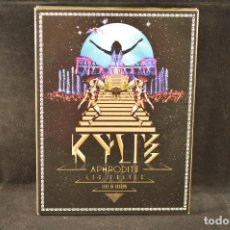 CDs de Música: KYLIE - APHRODITE - LES FOLIES - LIVE IN LONDON - 2 CD + DVD. Lote 138033598
