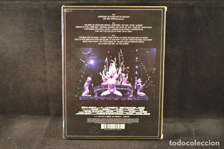 CDs de Música: KYLIE - APHRODITE - LES FOLIES - LIVE IN LONDON - 2 CD + DVD - Foto 2 - 138033598