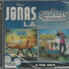 CDs de Música: JONAS L.A. - SONNY WITH A CHANCE / 2 CD / PRECINTADO (REF.17). Lote 138054962