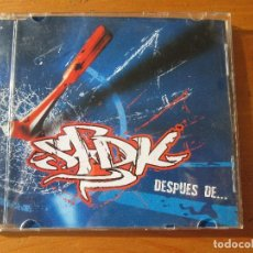 CDs de Música: SFDK DESPUÉS DE... +5 SFDK 2004 CON PEGATINA. Lote 138071030