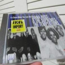 CDs de Música: DIANA ROSS & THE SUPREMES - I'M GONNA MAKE YOU LOVE ME TEMPTATIONS CD 1993. Lote 138076702