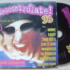 CDs de Música: VARIOS - DESCONTROLATE 98 - CD PROMOCIONAL 8 TEMAS - BOY. Lote 138093094