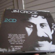 CDs de Música: JIM CROCE – SONGBOOK DOBLE CD 1989. Lote 138099930