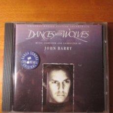 CDs de Música: BAILANDO CON LOBOS (BANDA SONORA) (JOHN BARRY) (CD). Lote 138132246