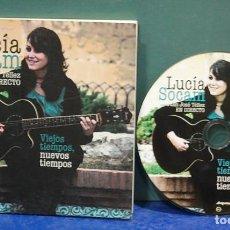 CDs de Música: LUCÍA SOCAM CON JUAN JOSÉ TELLEZ EN DIRECTO. VIEJOS TIEMPOS, NUEVOS TIEMPOS. CD + LIBRO. Lote 138179254
