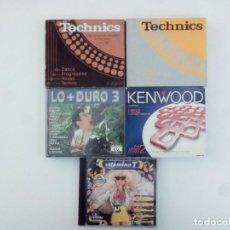 CDs de Música: LOTE CDS RECOPILATORIOS, MUSICA DANCE AÑOS 90.. Lote 138255398