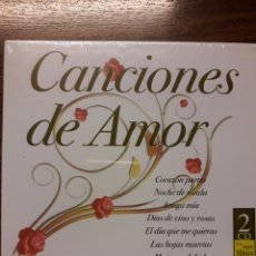 CDs de Música: CANCIONES DE AMOR. 2 CDS.. Lote 138261121