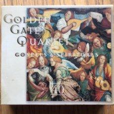 CDs de Música: GOLDEN GATE QUARTET, GOSPELS & SPIRITUALS 2 CD. Lote 138274378