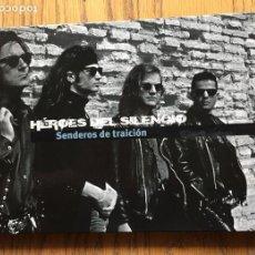 CDs de Música: HEROES DEL SILENCIO SENDEROS DE TRAICION, LIBRO CD. Lote 138276538