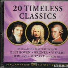 CDs de Música: == CD149 - 20 TIMELESS CLASICS - CD. Lote 138525998