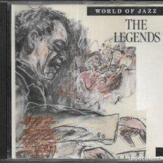 CDs de Música: == CD160 - WORLD OF JAZZ - THE LEGENDS - CD. Lote 138537098