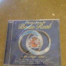 CDs de Música: MÚSICA PARA BODA REAL (22 MAYO 2004) CD PRECINTADO. Lote 138553536