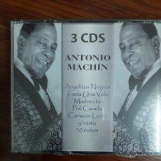 CDs de Música: ANTONIO MACHÍN. 3 CDS. Lote 138571925