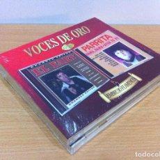 CDs de Música: PACK DOBLE CD EMBRUJO FLAMENCO - VOCES DE ORO - EL FARY Y PARRITA. DIVUCSA (2015). NUEVO, PRECINTADO. Lote 138604586