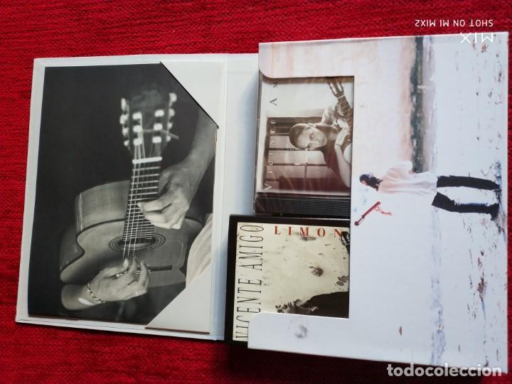 CDs de Música: VICENTE AMIGO/ CAJA VIVENCIAS IMAGINADAS/ LIBRETO CON FOTOS/VÍDEO/ CD PRECINTADO NUEVO A ESTRENAR - Foto 2 - 138636114