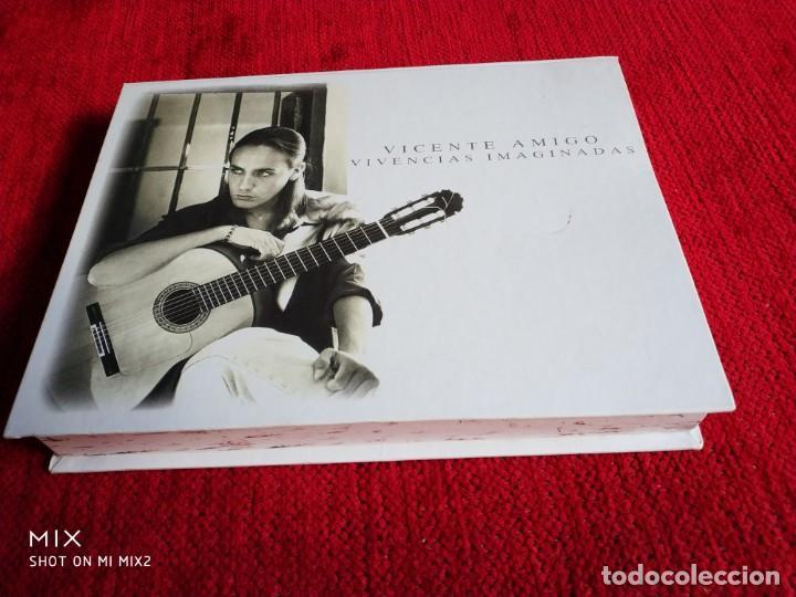 CDs de Música: VICENTE AMIGO/ CAJA VIVENCIAS IMAGINADAS/ LIBRETO CON FOTOS/VÍDEO/ CD PRECINTADO NUEVO A ESTRENAR - Foto 3 - 138636114