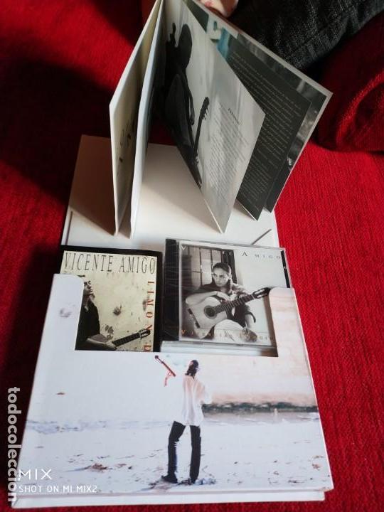 VICENTE AMIGO/ CAJA VIVENCIAS IMAGINADAS/ LIBRETO CON FOTOS/VÍDEO/ CD PRECINTADO NUEVO A ESTRENAR (Música - CD's Flamenco, Canción española y Cuplé)