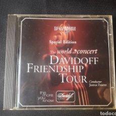 CDs de Música: DAVIDOFF FRIENDSHIP TOUR SPECIAL EDITION CD VERDI WAGNER STRAUSS DVORAK GRIEG VON SUPPE OFFENBACH. Lote 138640233
