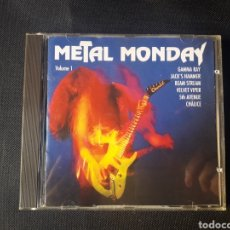 CDs de Música: METAL MONDAY VOLUME 1 CD (GAMMA RAY, CHALICE, JACK'S HAMMER, BEAM STREAM, VELVET VIPER, 5TH AVENUE). Lote 138640954