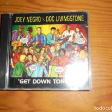 CDs de Música: JOEY NEGRO & DOC LIVINGSTONE. GET DOWN TONIGHT. KOCH, 1997. CD. IMPECABLE (#). Lote 138646894