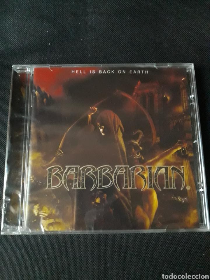 BARBARIAN - HELL IS BACK ON EARTH (HEAVY THRASH FUCK OFF) PRECINTADO (Música