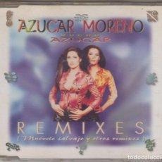 CDs de Música: AZÚCAR MORENO CD MAXI MUCHO AZÚCAR REMIXES 1997 MUÉVETE SALVAJE Y OTROS REMIXES. Lote 138724958