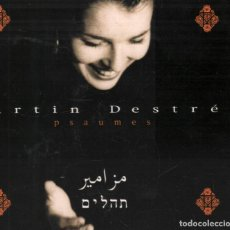 CDs de Música: MARTIN DESTREE - PSAUMES / CD ALBUM DE 2000 RF-1233 , BUEN ESTADO , PORTADA ABIERTA CON LETRAS. Lote 138734282