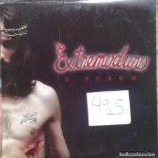 CDs de Música: EXTREMODURO - A FUEGO - CD PROMOCIONAL PARA RADIOS - 2002. Lote 138775558