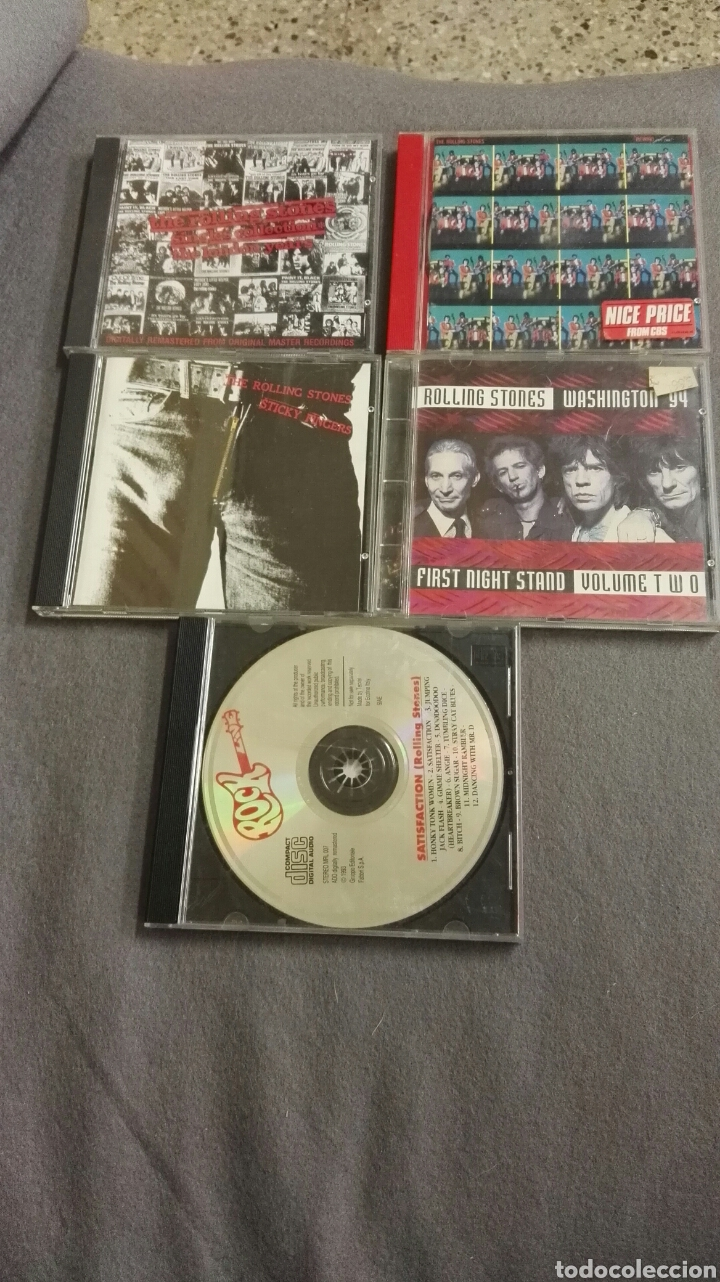 LOTE THE ROLLING STONES (Música - CD's Rock)