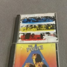 CDs de Música: LOTE THE POLICE. Lote 138799496