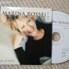 CDs de Música: CD SINGLE MARINA ROSSELL . Lote 138829662