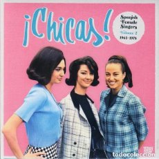CDs de Música: ¡ CHICAS ! SPANISH FEMALE SINGERS VOLUME 2 1963-1978 2 CD. Lote 138833402