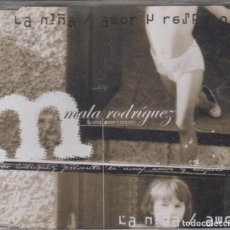 CDs de Música: MALA RODRÍGUEZ CD MAXI LA NIÑA / AMOR Y RESPETO 2003 6 TRACKS. Lote 138853378