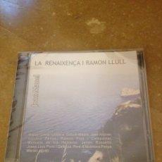 CDs de Música: LA RENAIXENÇA I RAMON LLULL (JOAN MANEL) CD PRECINTADO. Lote 138865762